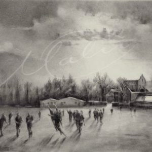 Charcoal Drawing GAA Boyle Co. Roscommon