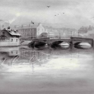 Charcoal drawing Boyle Co. Roscommon