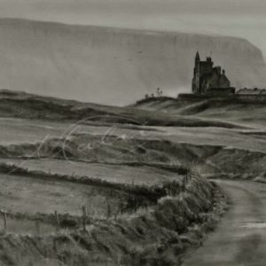 Charcoal Drawing Classiebawn Mullaghmore